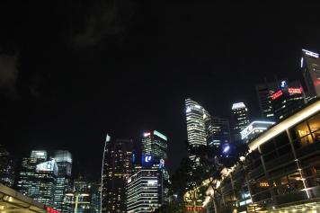 Singapore City by night