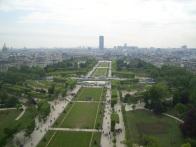 Vista dalla Tour Eiffel