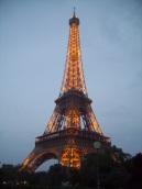 Tour Eiffel di sera